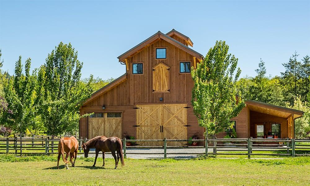 Horse Barns Cowgirl Magazine