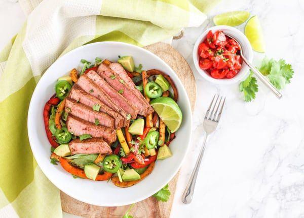 Steak-Fajita-Salad