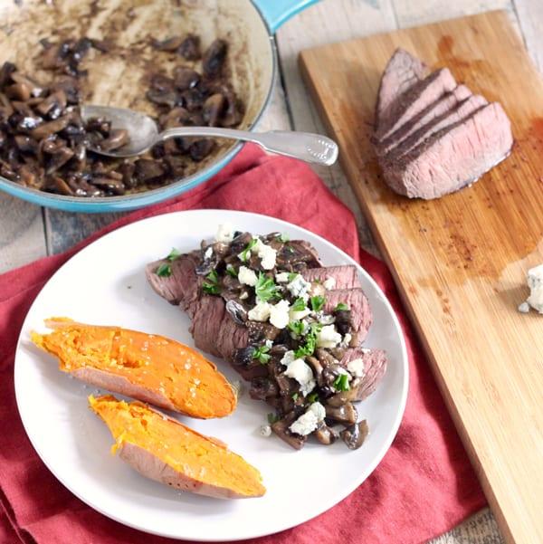 Steak-with-Blue-Cheese-Mushroom-Sauce-2