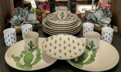 bloomingville cactus dinnerware set cowgirl magazine