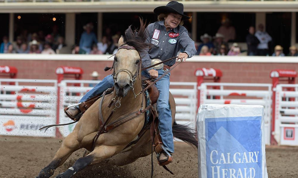 The Calgary Stampede Rodeo Cowgirl Magazine
