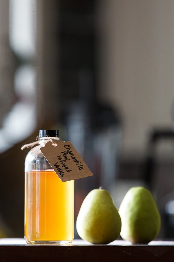 chamomile-pear-infused-vodka