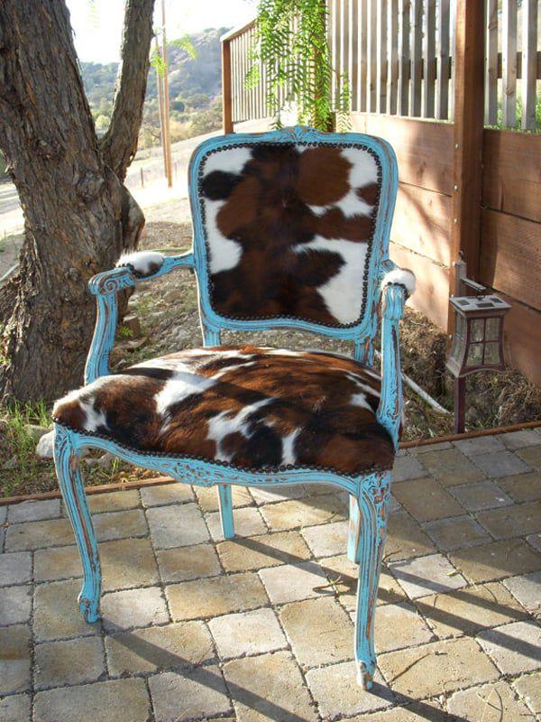 cowhide-chair