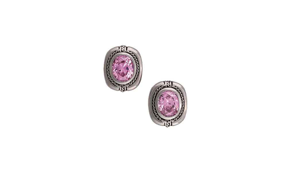 pink earrings montana silversmiths cowgirl