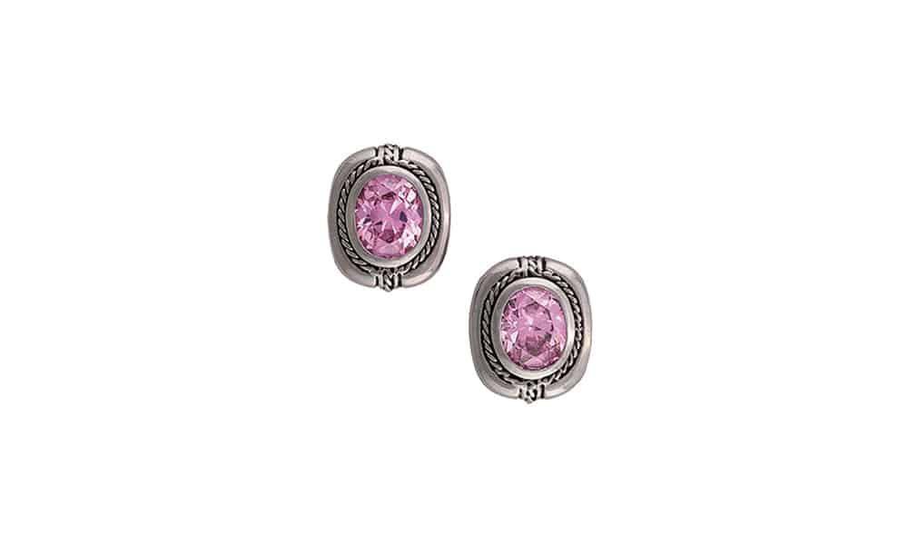 pink earrings montana silversmiths cowgirl