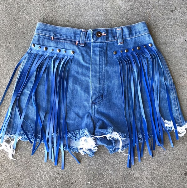 fringe-blue-shorts