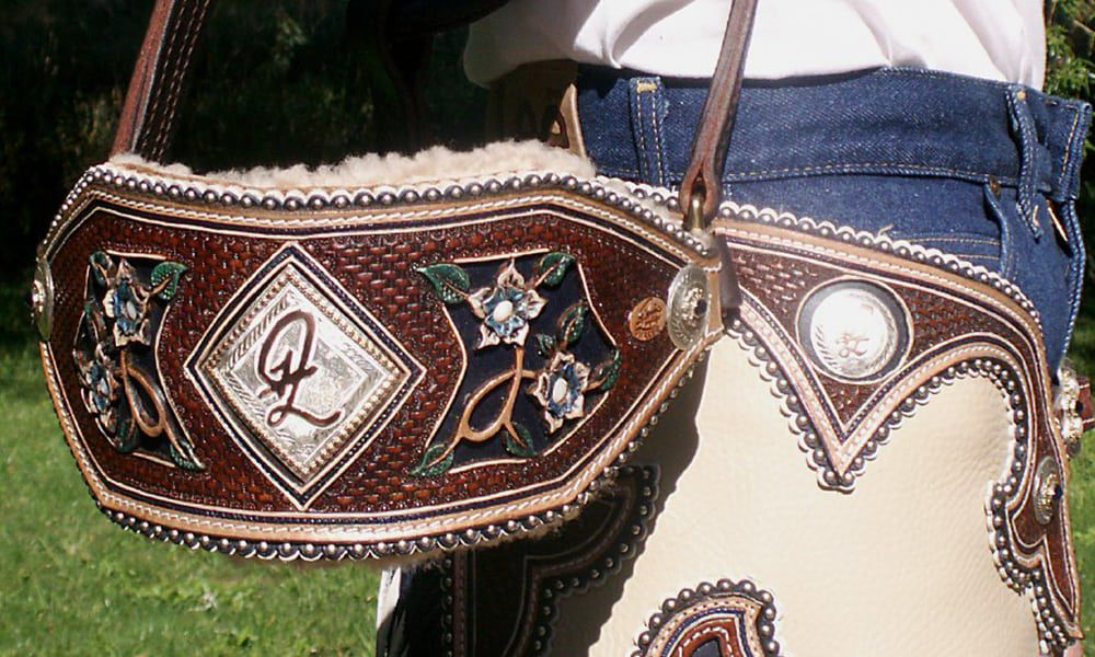Custom Leather Bronc Halters Denice Langley Cowgirl Magazine