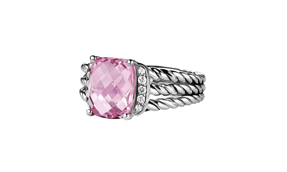 david yurman ring pink cowgirl