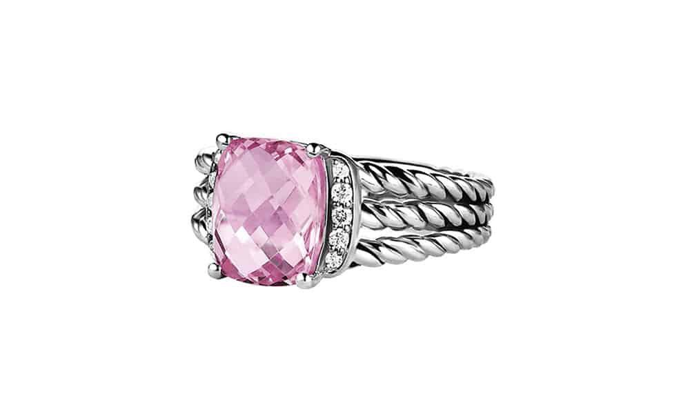 david yurman ring pink cowgirl