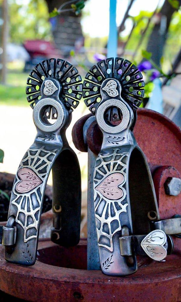 Custom Spurs Cowgirl Magazine