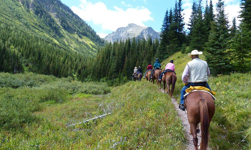 Scenic horseback rides Cowgirl Magazine