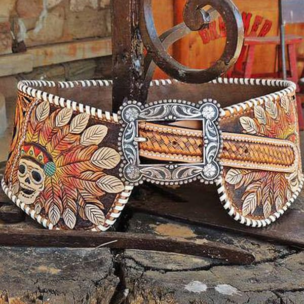 designs by triesta hip belt cowgirl magazine