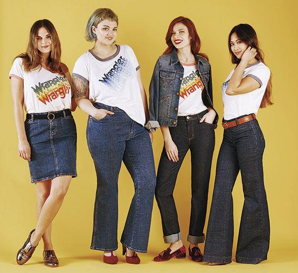 Modcloth Wrangler Fashion Denim Cowgirl Magazine