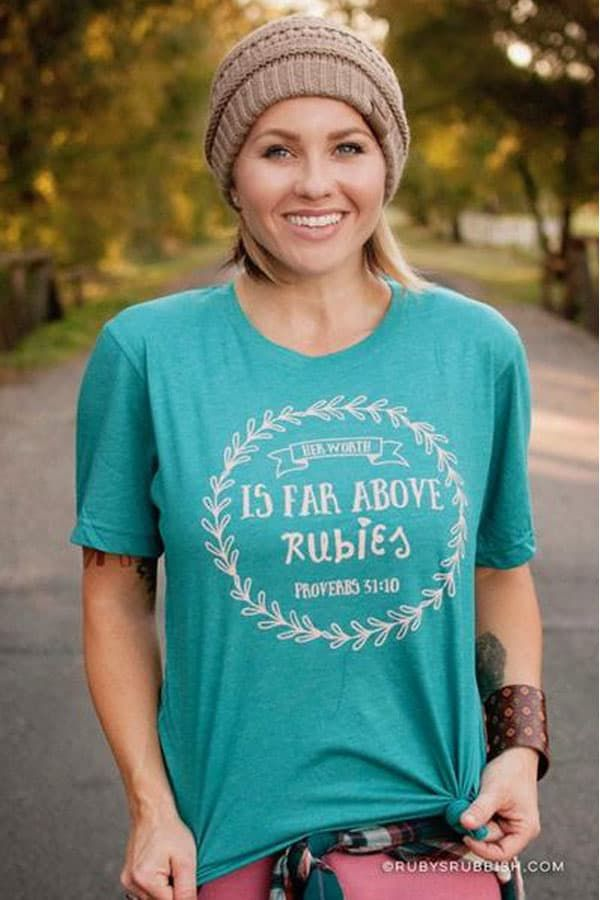 Ruby's Rubbish graphic tees cowgirl magazine