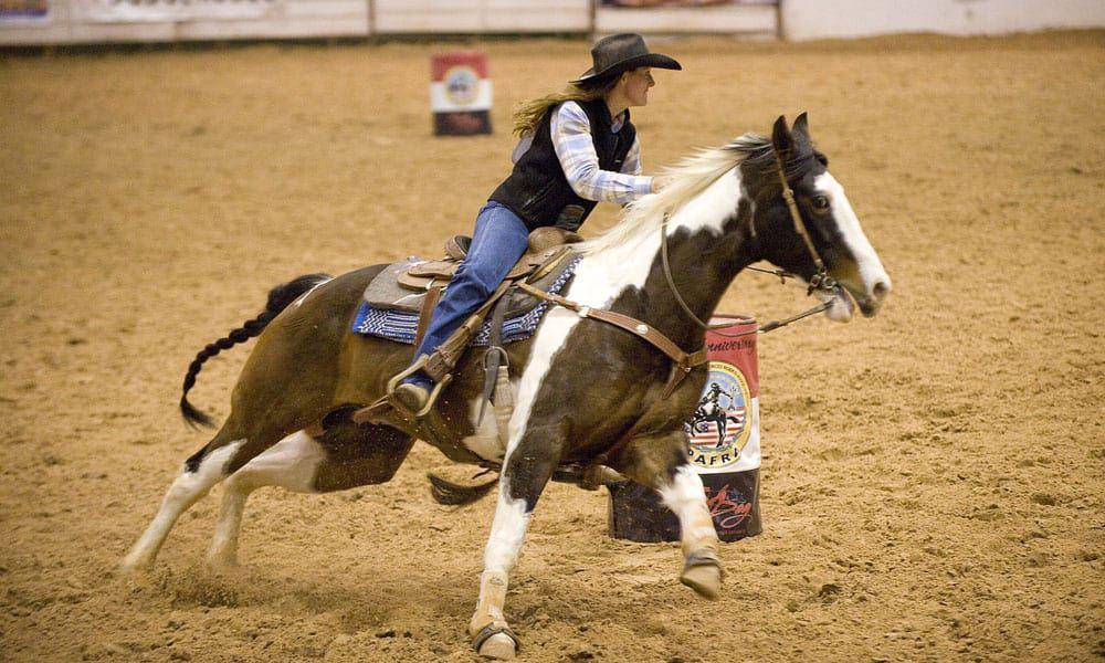 Cowgirl - Barrel