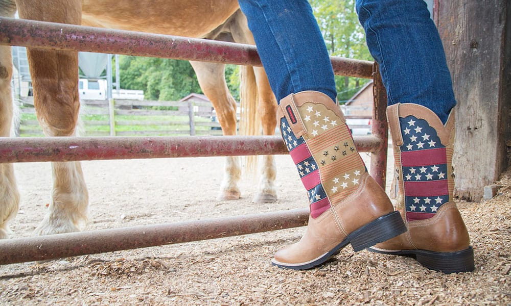 patriotic boots durango cowgirl magazine