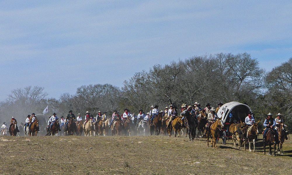 Salt Grass Trail Ride Cowgirl Magazine