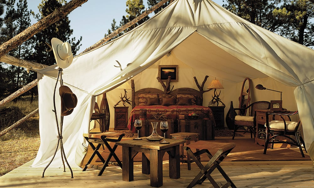 Glamping Summer Vacations Cowgirl Magazine