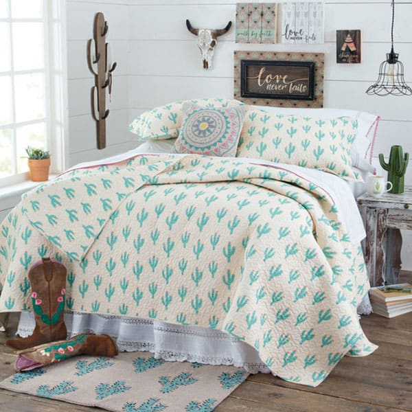 cowgirl cactus bedding collection cowgirl magazine
