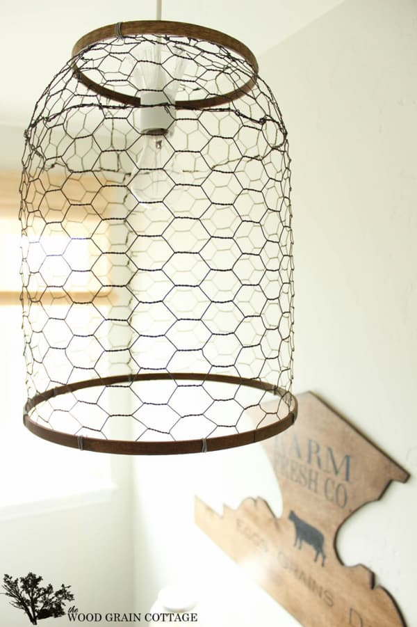 Farmhouse chicken wire cowgirl magazine
