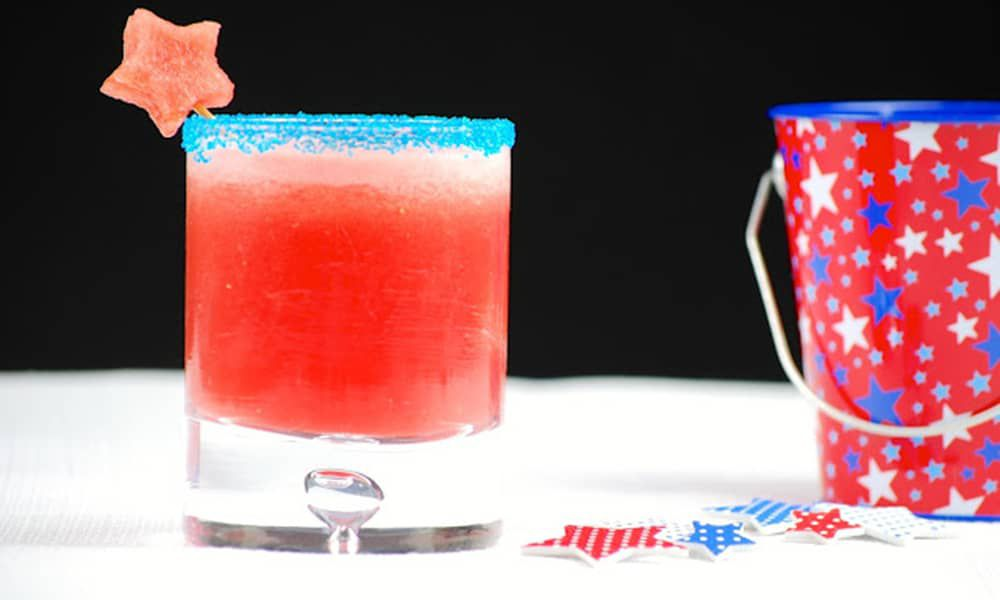 Patriotic Cocktails Red White Blue 4th of July Cowgirl Magazine