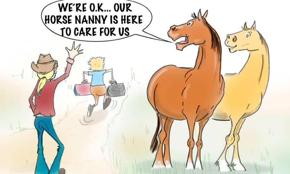 horse nannies cowgirl magazine