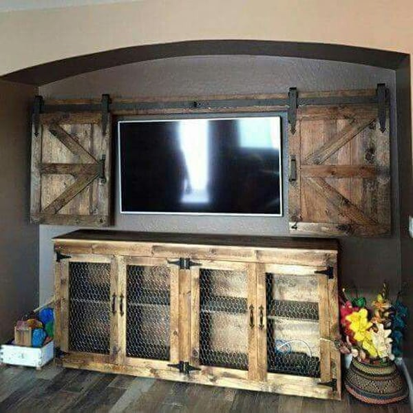 reclaimed-wood-media-center
