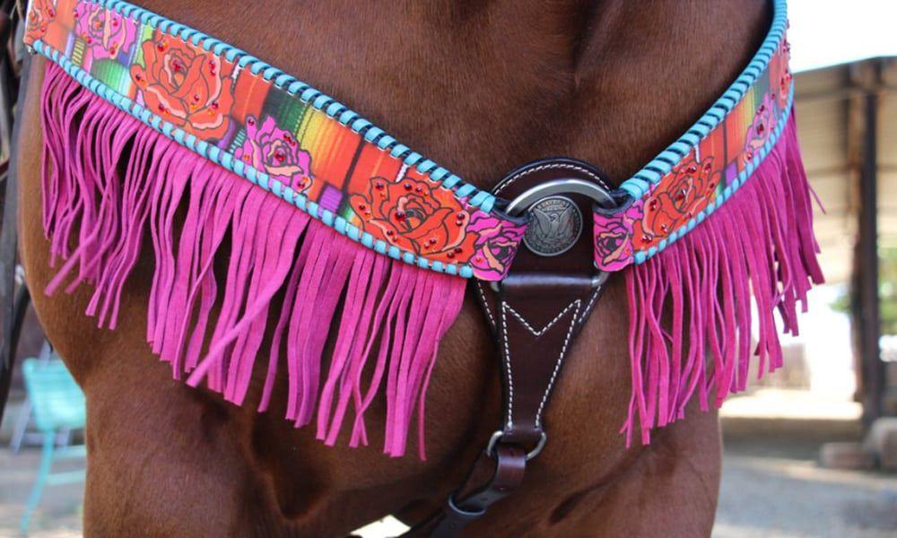 rose breast collars