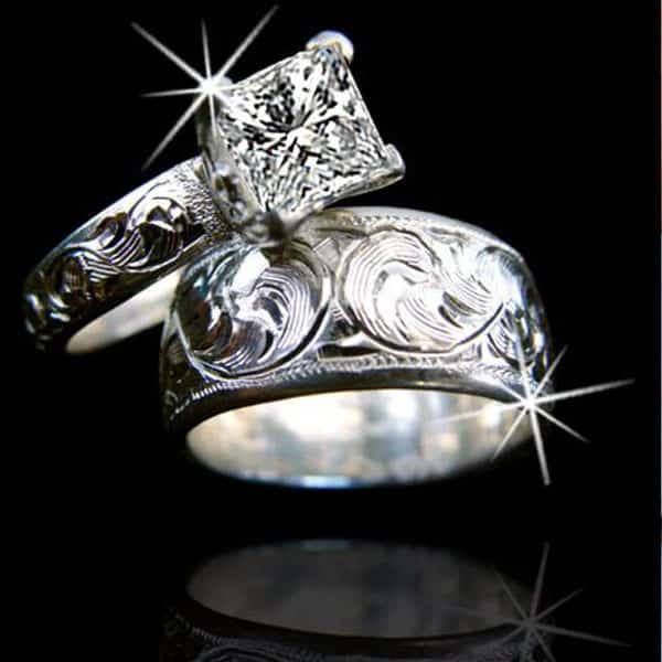 cowgirl wedding ring inspiration