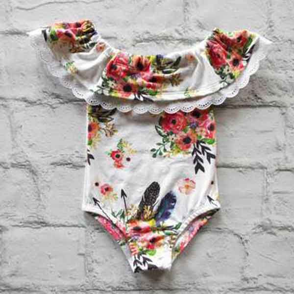 onesies onesie babe baby babies baby clothes aztec floral fringe turquoise cowgirl magazine