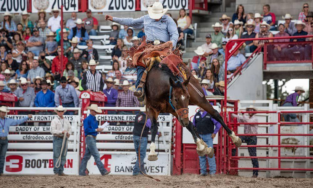 Cheyenne Frontier Days Rodeo Cowgirl Magazine
