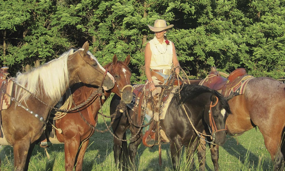 ranch geldings horses cowgirl magazine