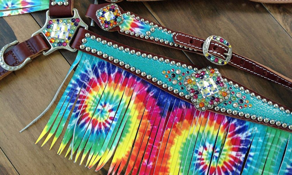 Groovy Psychedelic Horse Tack