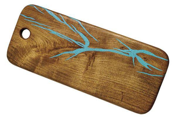 Treestump woodcrafts decor cowgirl magazine