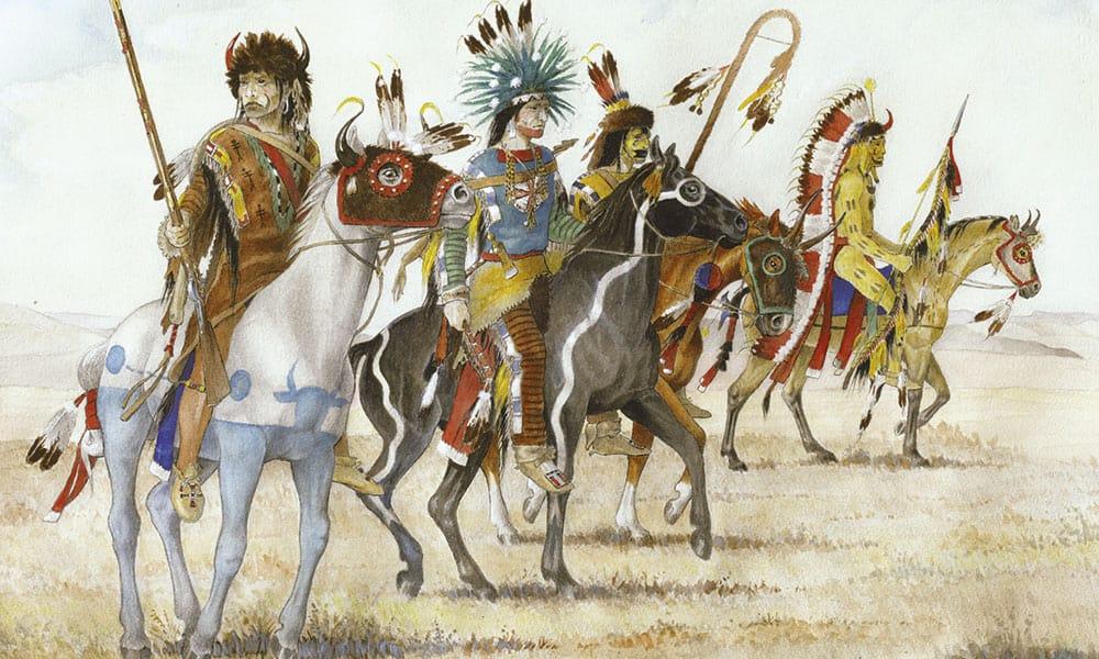 Indian native american War horse cowgirl magazine