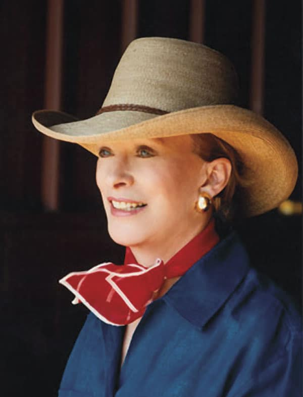 6666 ranch anne burnett windfohr marion anne valliant burnett cattle ranch cowgirl magazine