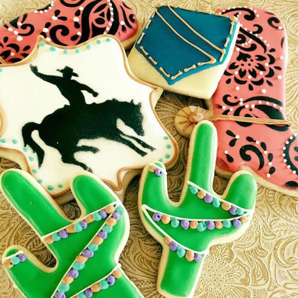 cookies sookie's cookies and more cookie cake cake balls cupcakes cupcake sweet sweets cactus western fringe food pocket heart mk cacti arrow teepee mermaid shell graduate graduation rodeo queen barn pig sheep cow barnyard cowgirl magazine