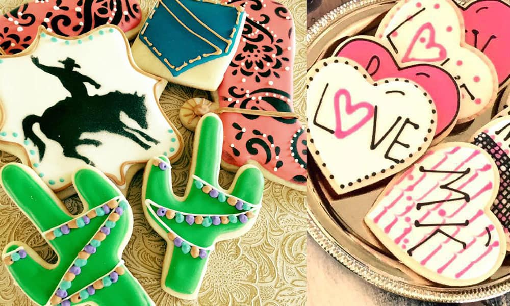 sookie's cookies and more cookie cake cake balls cupcakes cupcake sweet sweets cactus western fringe food pocket heart mk cacti arrow teepee mermaid shell graduate graduation rodeo queen barn pig sheep cow barnyard cowgirl magazine