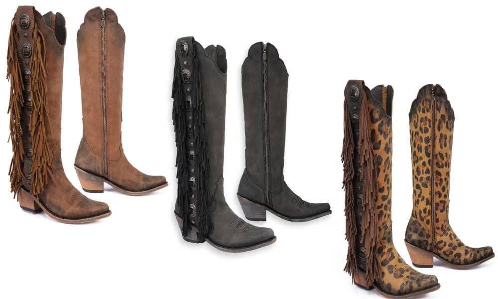 Liberty Black Boots Viva Vegas Cowgirl Magazine