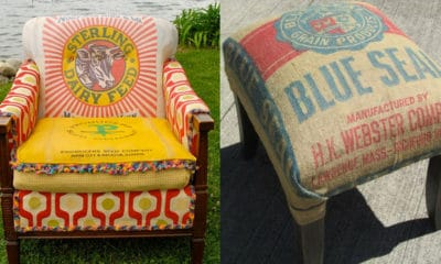 Feed Sack Furniture Farm House Chic