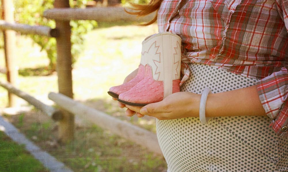 Cowboy Cowgirl Gender Reveal Party Cowgirl Magazine