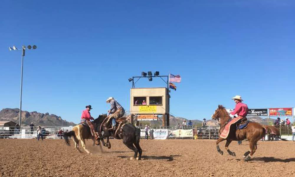 Rodeo heroes pickup men bronc bulls roughstock cowgirl magazine