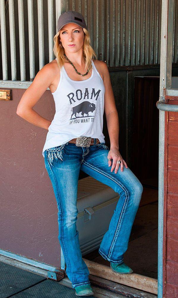 Cowgirl Magazine clothing line western fashion