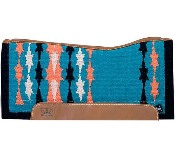 Turquoise Saddle Pads tack cowgirl magazine