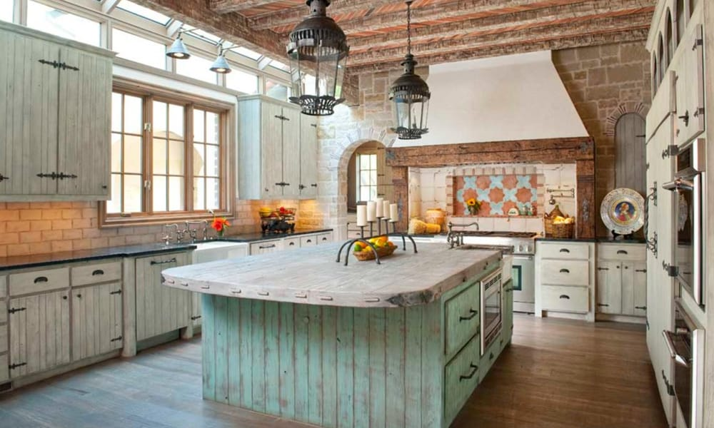 turquoise kitchens cowgirl magazine