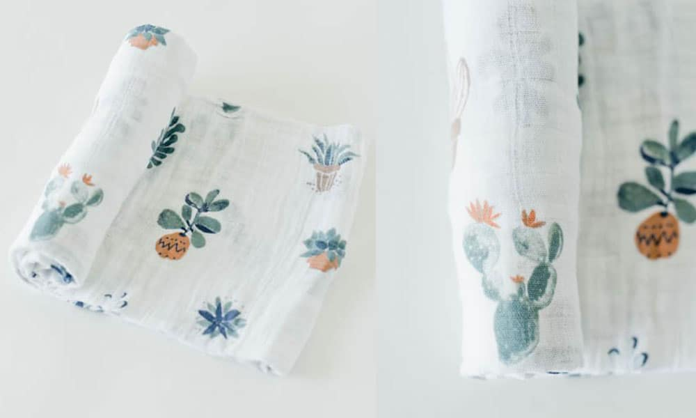 prickle pots cactus cactuses cacti little unicorn unicorns baby babies gender neutral car seat cover canopy bedding burp cloth quilt changing station cowgirl magazine cowboy twins triplets