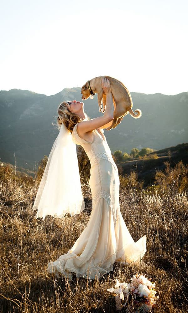 Dogs Wedding Cowgirl Magazine