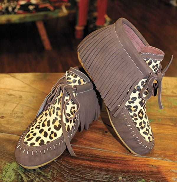 Cloud walkers funky moccasins western shoes cowgirl magazine