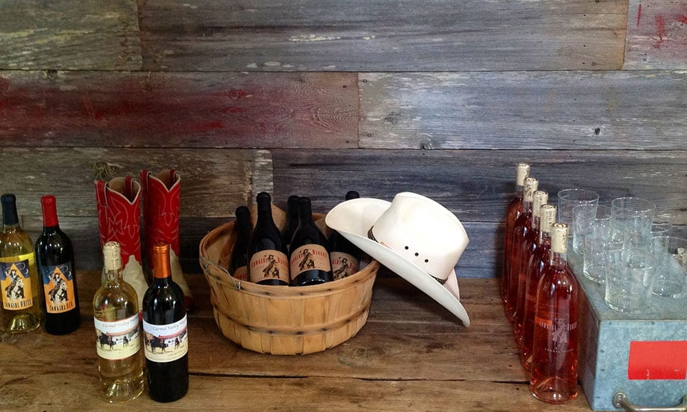 Wine horse accessories cowgirl magazine