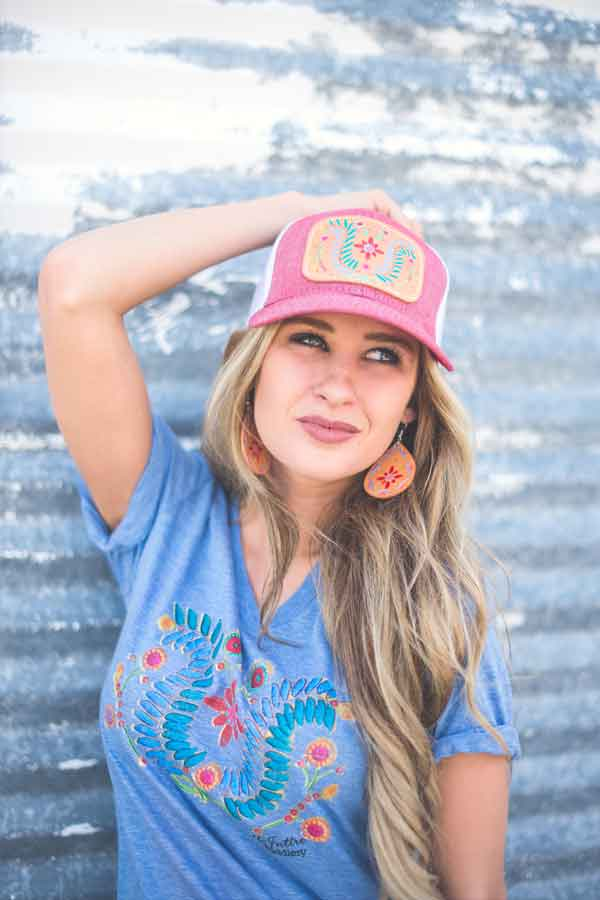 mcintire saddlery fall line leather leatherwork graphic tee tees cap hat belt vintage cowgirl magazine
